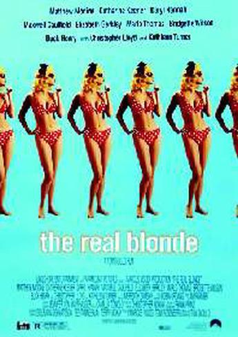 The Real Blonde Originalposter