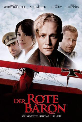 The Red Baron - German Style Poster