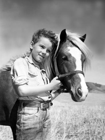 The Red Pony, Peter Miles, 1949 Photo