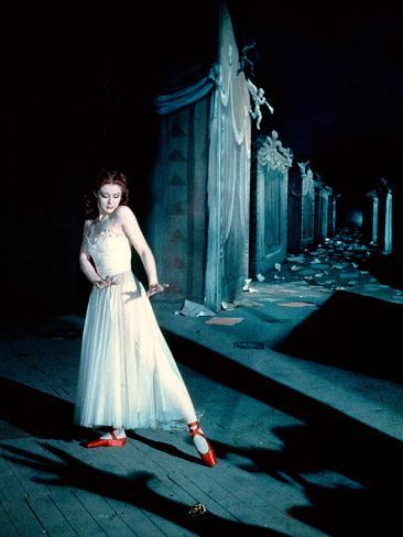 The Red Shoes, Moira Shearer, 1948 Fotografía