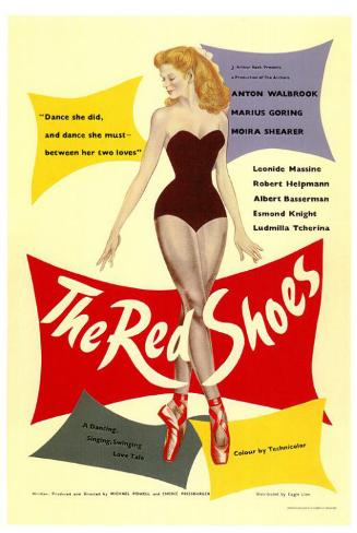 The Red Shoes Masterprint