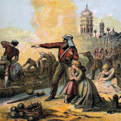 The Relief of Lucknow, 1857 Giclee Print