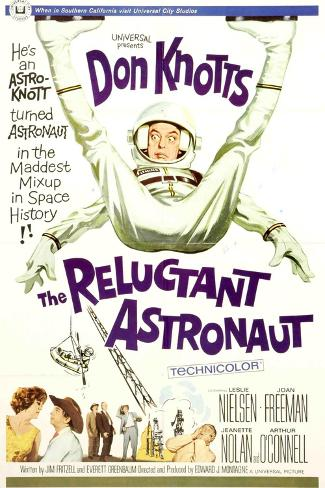 The Reluctant Astronaut, 1967, Directed by Edward Montagne Impressão giclée