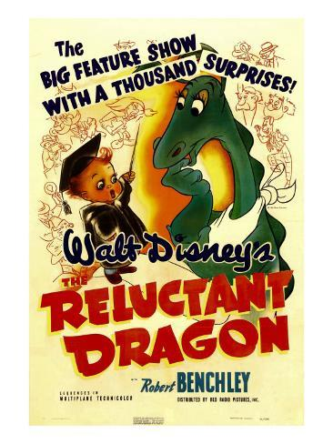 The Reluctant Dragon, 1941 Photo