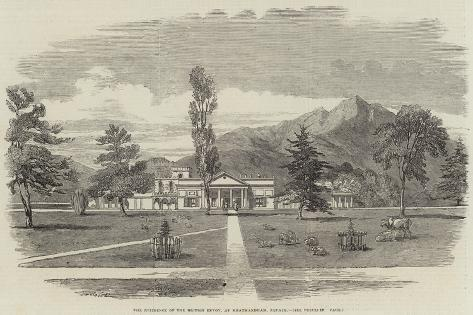 The Residence of the British Envoy, at Khatmandham, Nepaul Giclee Print
