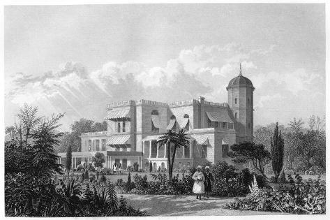 The Residency, Lucknow, India, C1860 Giclee Print