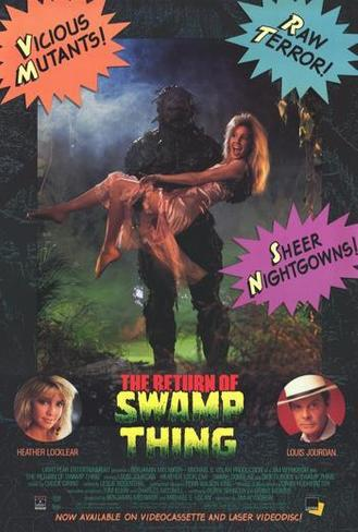The Return of Swamp Thing Pôster