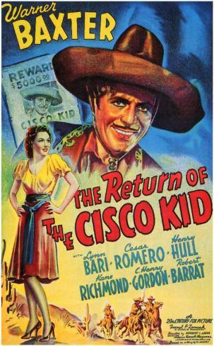 The Return of the Cisco Kid Masterprint