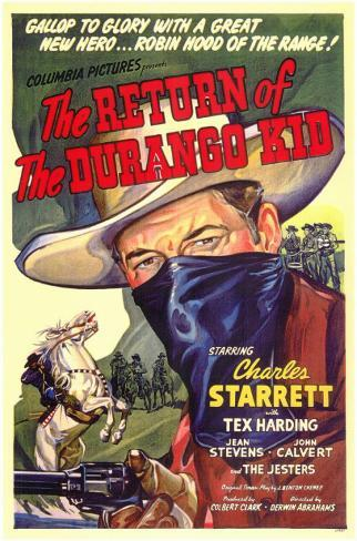 The Return of the Durango Kid Masterprint