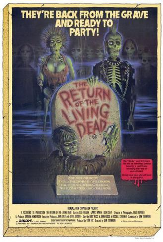 The Return of the Living Dead Pôster