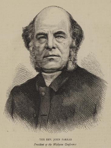 The Reverend John Farrar Lámina giclée