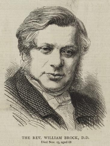 The Reverend William Brock Lámina giclée