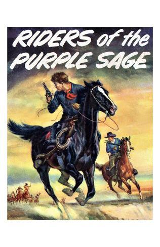 The Riders of the Puple Sage Giclee Print