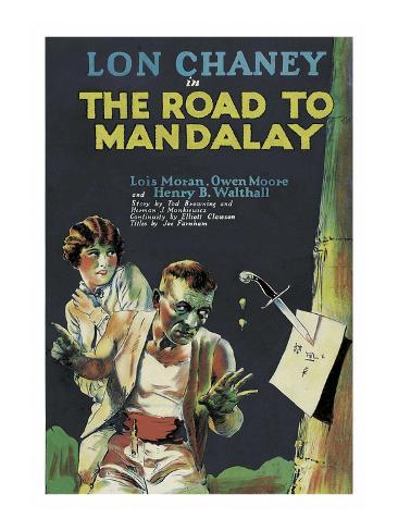 The Road to Mandalay Art Print