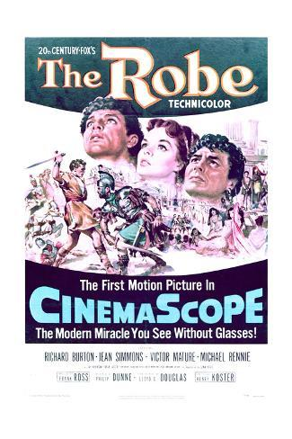 The Robe - Movie Poster Reproduction Art Print