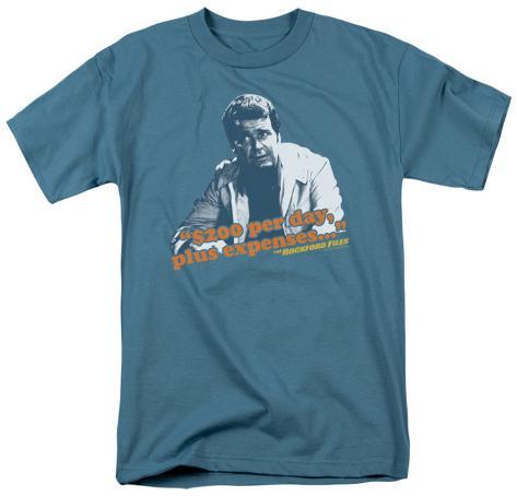 The Rockford Files - $200 Per Day T-Shirt
