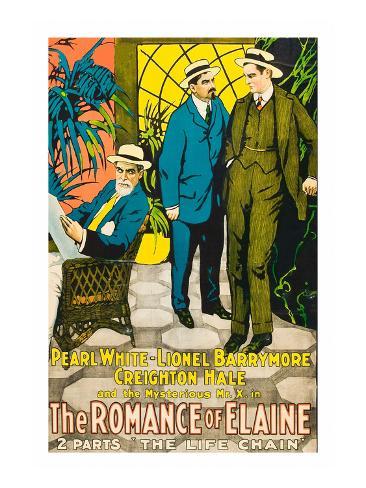 The Romance of Elaine Art Print