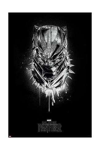 The Royal Panther Art Print