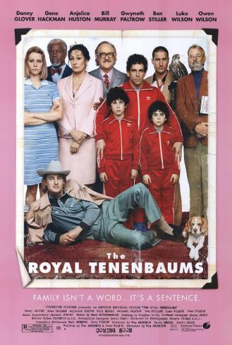 The Royal Tenenbaums Pôster