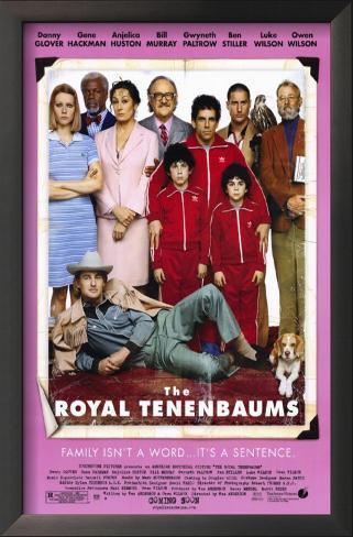 The Royal Tenenbaums Impressão artística emoldurada