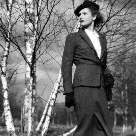 The Rules Of The Game, (aka La Regle Du Jeu), Nora Gregor, 1939 Fotografía