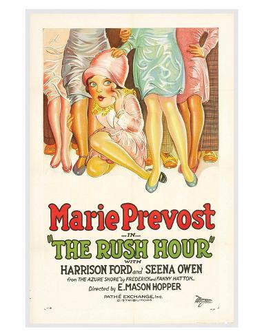 The Rush Hour - 1928 Giclee Print
