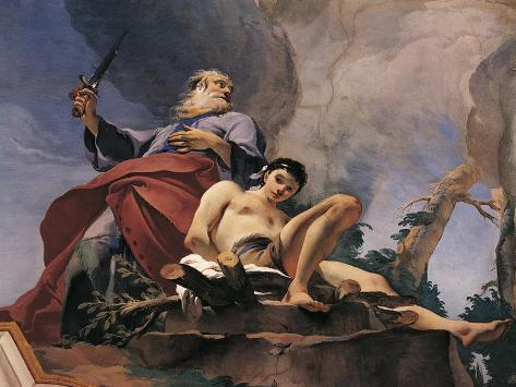 The Sacrifice of Isaac Giclee Print
