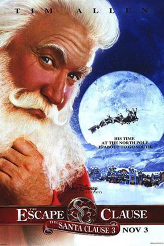 The Santa Clause 3: The Escape Clause Póster original