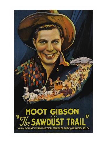 The Sawdust Trail Art Print