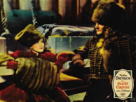 The Scarlet Empress, 1934 Stampa artistica