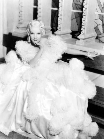 The Scarlet Empress, Marlene Dietrich, 1934 Stretched Canvas Print