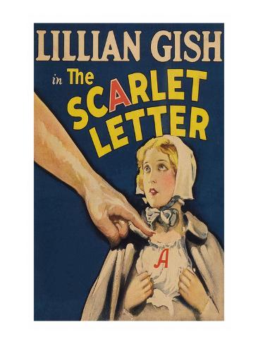 The Scarlet Letter Art Print