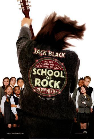 The School of Rock Double-sided poster