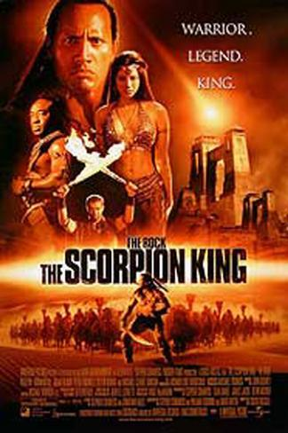 The Scorpion King Double-sided poster