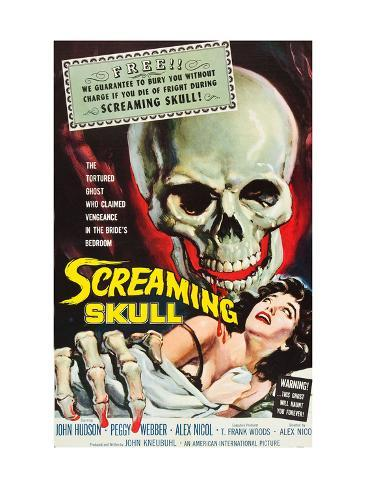 The Screaming Skull, 1958 写真