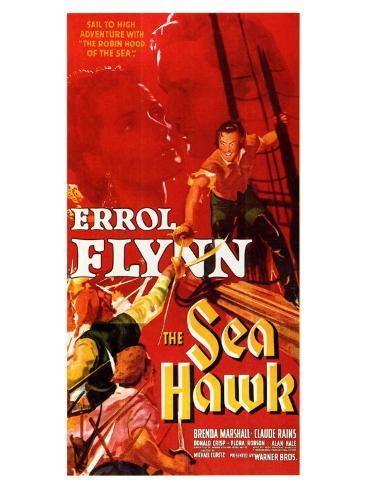 The Sea Hawk, 1940 Art Print