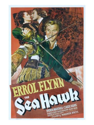 The Sea Hawk, Brenda Marshall, Errol Flynn, 1940 写真