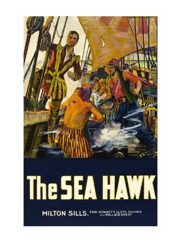 The Sea Hawk Art Print