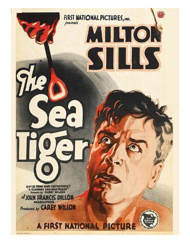 The Sea Tiger - 1927 Impressão giclée