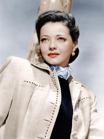 THE SEARCHING WIND, Sylvia Sidney, 1946 Stretched Canvas Print