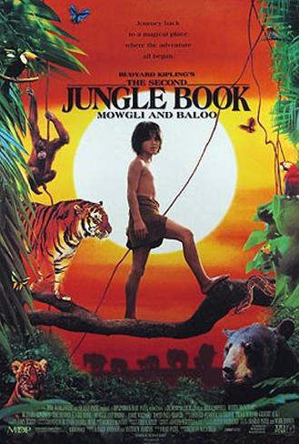 The Second Jungle Book Original Poster
