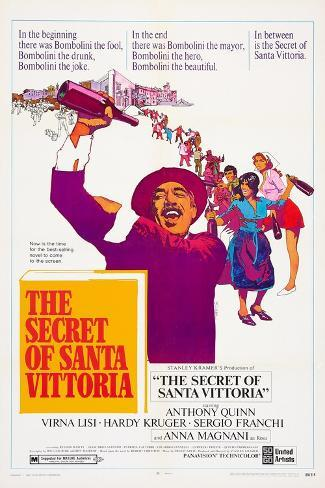 The Secret of Santa Vittoria Art Print