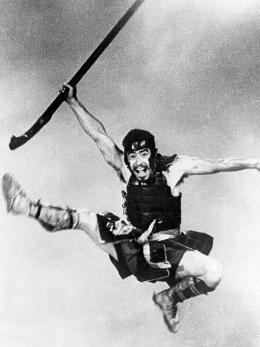 The Seven Samurai, (aka Shichinin No Samurai), Toshiro Mifune, 1954 Foto