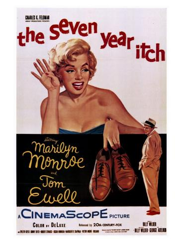 The Seven Year Itch, 1955 Art Print