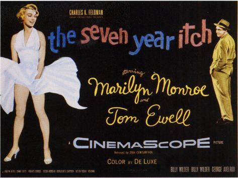 The Seven Year Itch, 1955 Lámina giclée prémium