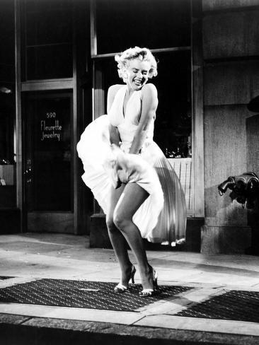 The Seven Year Itch, Marilyn Monroe, 1955 Fotografia
