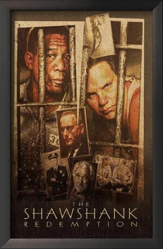 The Shawshank Redemption Framed Art Print