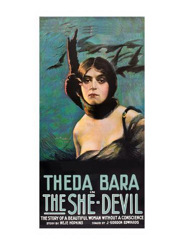 The She Devil Art Print