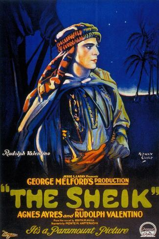 The Sheik, 1921, Directed by George Melford Giclee Print