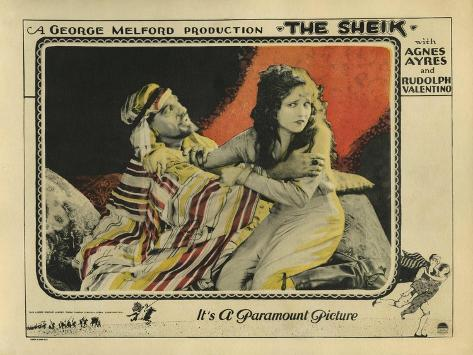 The Sheik, 1921 Art Print